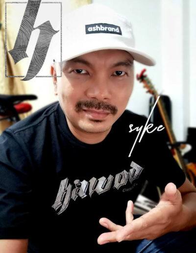 Syke Dolero CLR The Artist Hawod Clothing Tshirt Mindanao Streetwear